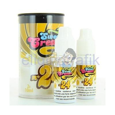 Eliquid France Sweet Cream N°24 (2x10ML) 6mg