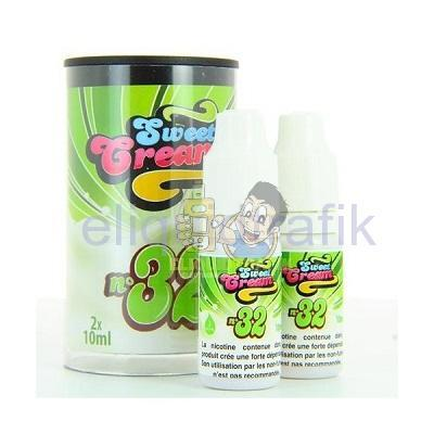 Eliquid France Sweet Cream N°32 (2x10ML) 6mg