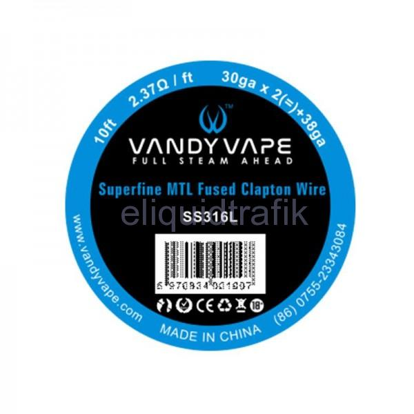 Vandy Vape Superfine MTL Fused Clapton