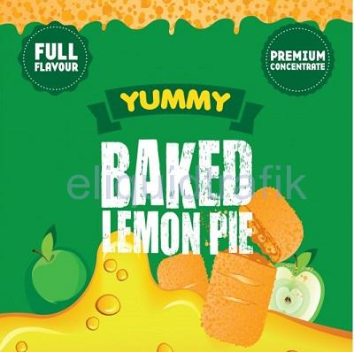 Baked Lemon Pie Big Mouth