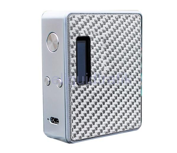 Lost Vape Esquare DNA 60 Box Mod - Silve / Carbon Fiber