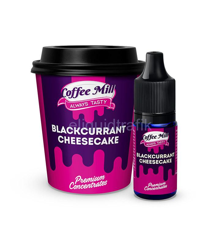 Coffee Mill Blackcurrant Cheesecake - 10ml