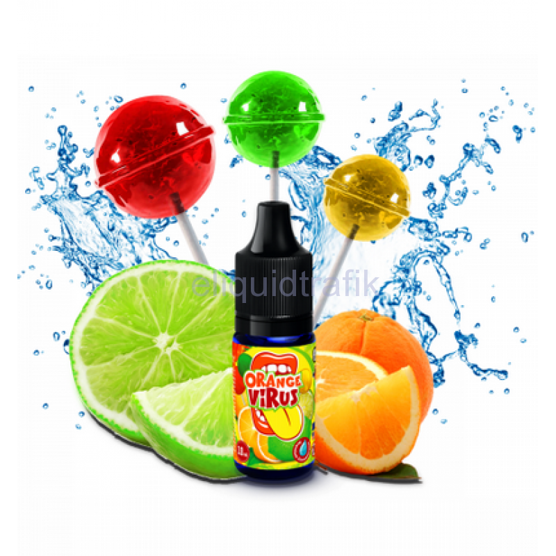 Big Mouth Orange Virus Flavor Concentrate – 10ml