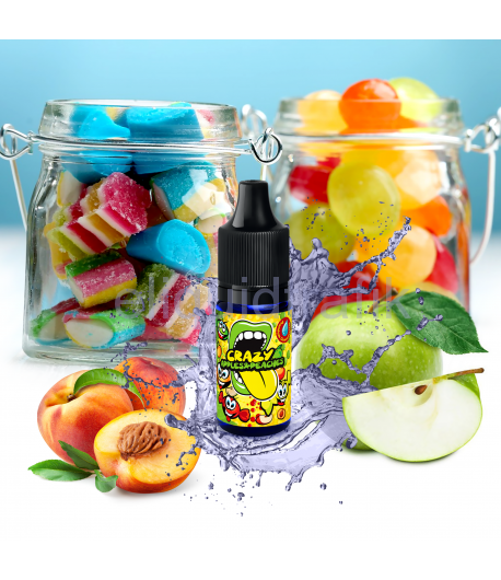 Big Mouth Crazy Apples and Peaches Flavor Concentrate – 10ml