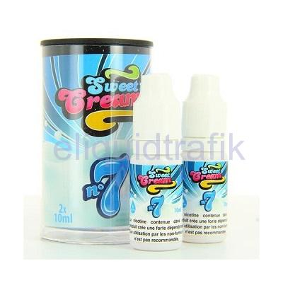 Eliquid France Sweet Cream N°7 (2x10ML) 6mg