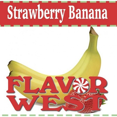 Flavor West – Strawberry Banana