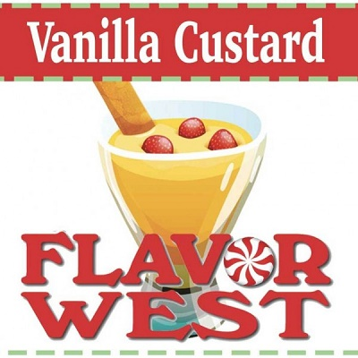 Flavor West - Vanilla Custard