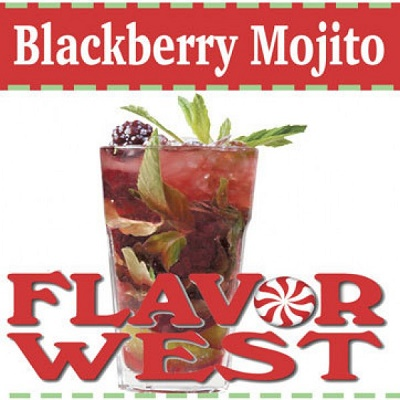 Flavor West - Blackberry Mojito