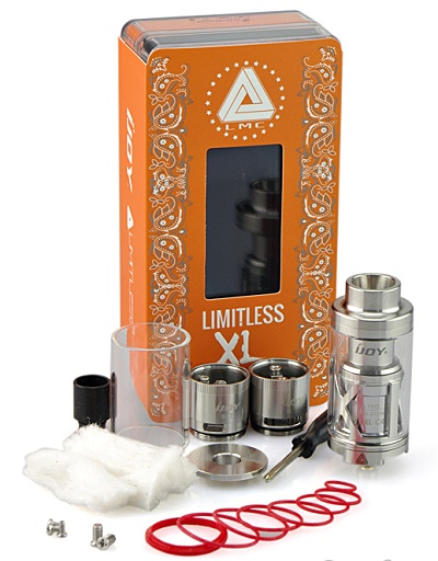 IJoy Limitless XL RTA/ SubOhm Tank -Chip Coils - 4ml