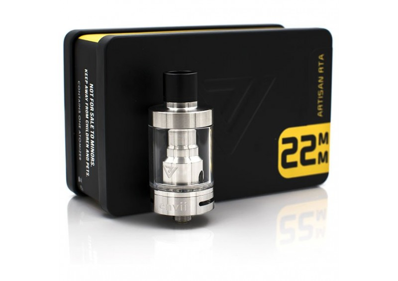 Envii Artisan RTA Silver 22mm / 3ml