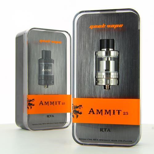 Geek Vape Ammit 25 Single Coil RTA Black