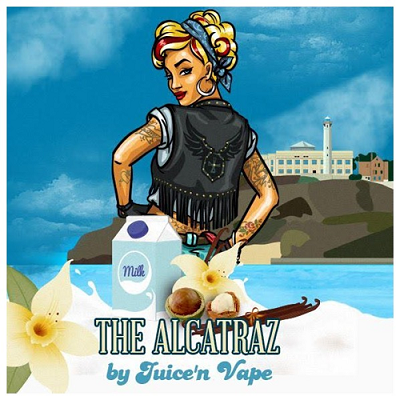 Juice Vape - The Alcatraz