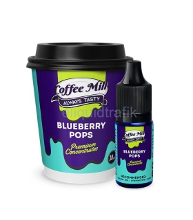 Coffee Mill Blueberry pops - 10ml